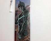 Upcycled Batman Comic Book Bookmark