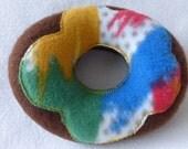 Dog Donut Toy Frosted Color Splash
