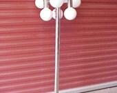 SONNEMAN Space Age Chrome Moon Globe Floor Lamp, Mid Centuy Modern Art Lighting