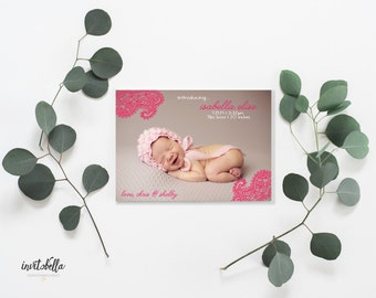 Baby Paisely - Birth Announcement