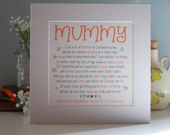 Mummy Print