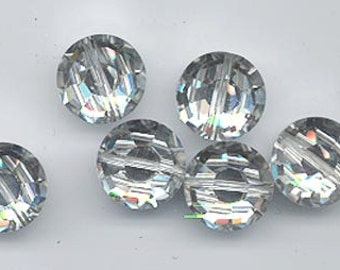 Vintage Swarovski factory pack - Art 5100 - 12 mm - crystal comet argent light - 4/12 gross