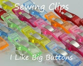 10 Mini Sewing Clips/Quilting Clips/Binding Clips/Craft/Knitting/Crocheting Fabric Plastic Clips