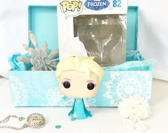 Fairytale Subscription Box - Once Upon a Fairy Treasure book funko pop fandom jewelry subscription, Frozen, Snow Queen