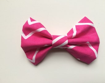 Think Pink fabric bow