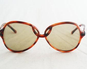 Sunglasses – Large Tortoise Shell French Frames Vintage 70's