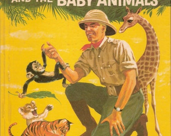 Flash Gordon and the Baby Animals Vintage Wonder Book Illustrated by Alex Berger