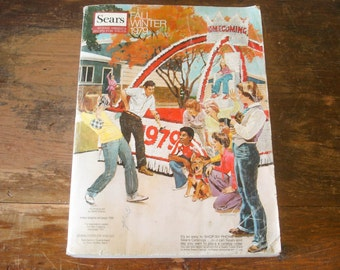 Vintage 1979 SEARS Catalog Fall / Winter Sears, Roebuck and Co. Store Catalog / Wish Book Disco Era 70s Fashion & Furniture