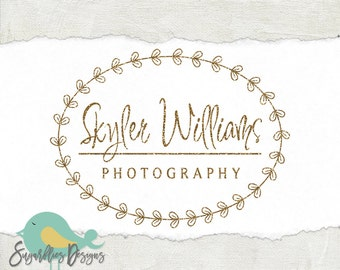 Photography Logos and Business Logos Gold Watermark 90
