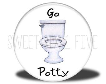 Go Potty - Chore Magnet