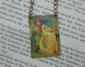 Mucha necklace Mucha jewelry Alphonse Mucha