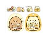 Diary Scrapbook Sticker Label Pack Japan San-X Sumikko Gurashi ( Set Off White & Orange )