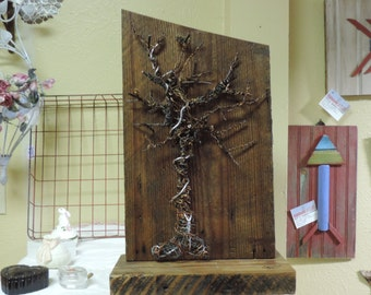 Wire & Wood custom art