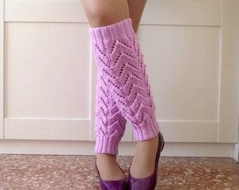 KNITTING PATTERN LEGWARMERS - Daisy Legwarmers - socks leg warmer pdf pattern Instant Download Knit leg warmers Easy pattern for beginners