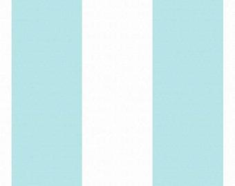 Thick Stripe (Aqua) - BEKKO - Trenna Travis - Michael Miller Fabrics - 1 Yard