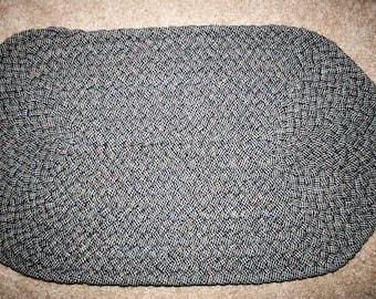 wool braided rug