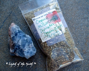 MUGWORT Dried Loose Herb - Divination, Herbal Enchantments, Witches Apothecary, Botanical Magick, Herbal Magick, Witchcraft, Hoodoo