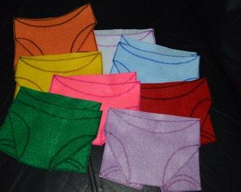 Underware FELT Story ... Where Oh Where has my Underwear Gone?