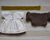 30 cm 1000Rehe doll dress set
