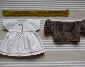 30 cm 1000Rehe doll dress set