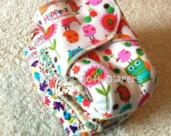 Custom One-Size, Knit Outer Cloth Diaper - Your choice of print, finish, and inner fabric!