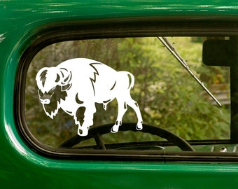 Buffalo Decal, Bison Decal, Buffalo Sticker, Bison Sticker, Car Decal, Vinyl Sticker, Laptop Sticker, Vinyl Decal