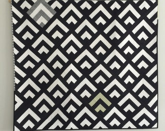 Modern Art Deco Wall Quilt