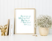 There Are Far Better Things Ahead Than Any We Leave Behind - C.S. Lewis {DIGITAL DOWNLOAD}