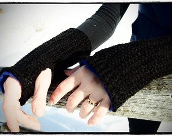 Fleece Lined Fingerless Gloves