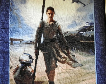 The Force Awakens - Toddler Quilt - Wall Quilt - Star Wars: Episode VII -