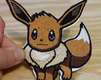 Eevee Pokemon  Patch iron on/sew on