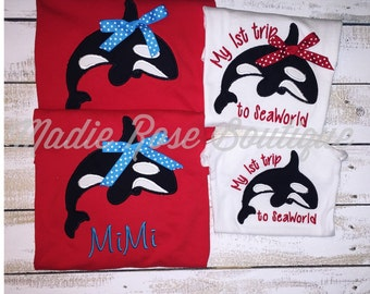 Sea World Shirt Set