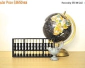 ON SALE Vintage Black Abacus | Modern Rustic Home Decor