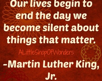 MLK Quote Digital Download Image