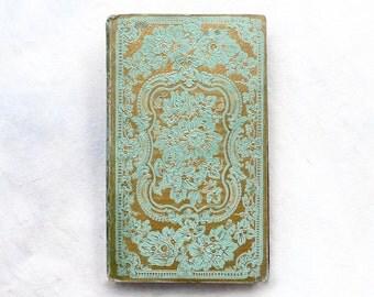 Custom Guest Book, Unique Wedding Journal, Personalized Anniversary Gift, Bride & Groom Keepsake, Ornate Antique Book, Elegant Guestbook