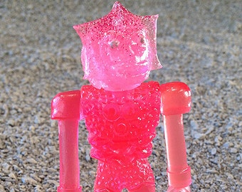 SEA-BORG MUTATION  Wave 2 Plastic Resin Figure - very pink