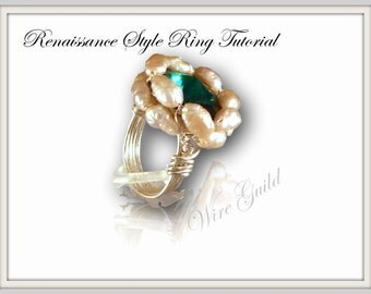 Renaissance Style Wire Wrapped Ring Tutorial