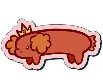Hot Dog Princess - Adventure Time Sticker (3 Inch)