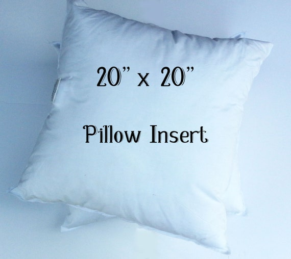 sale 20 x 20 pillow forms 20 x 20 pillow inserts faux. Black Bedroom Furniture Sets. Home Design Ideas