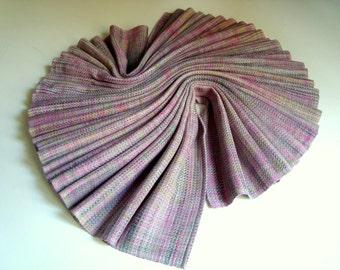 Handwoven Baby Wrap, Bourette Silk / Cotton, Size 4, ( 69 X 370 cm)