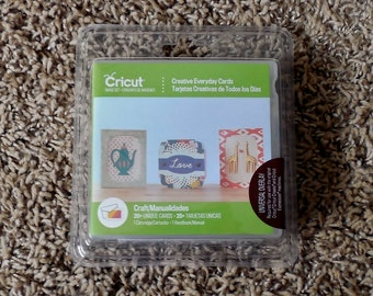Cricut Cartridge Creative Everyday Cards and Envelopes All Occasion New SEALED