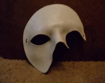 Leather Phantom of the Opera Mask