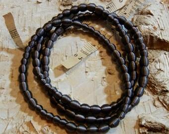 Piano Wire Slate Dots bracelet