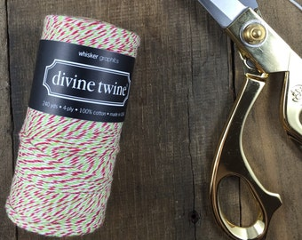 Red, White and Green Divine Twine Baker's Twine