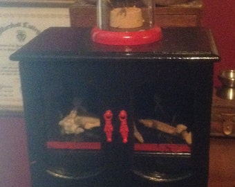 Cabinet of curiosities fully loaded victorian scientific oddity starter