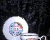 Oregon Cup & Saucer  Made in Japan