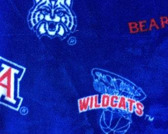 University of Arizona Wildcats Football Fleece Sports Baby Blanket