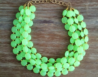 Key Lime Necklace