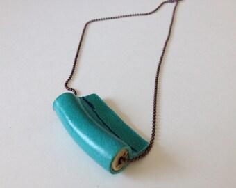 Necklace TUBE 'Aqua'