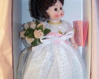 "Congratulations"" 8 inch doll madame alexander MIB"